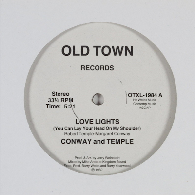 Conway & Temple - Love Lights (You Can Lay Your Head On My Shoulder)