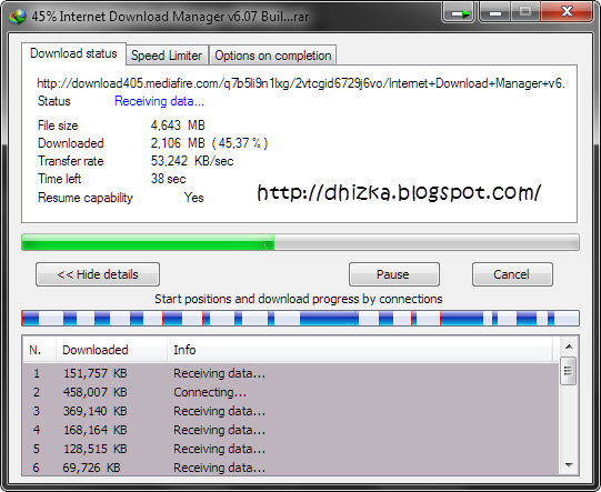 Internet Download Manager V6.07 Build 10 Finalists