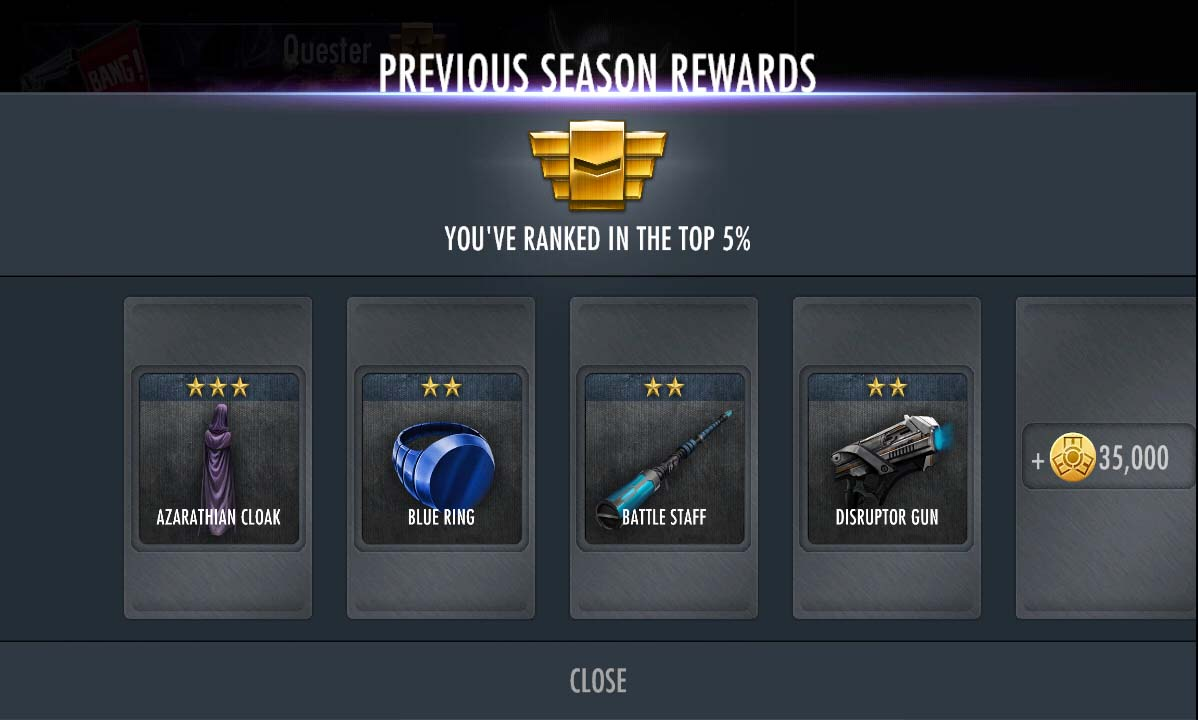 Season Rewards Injustice (Top 5%)