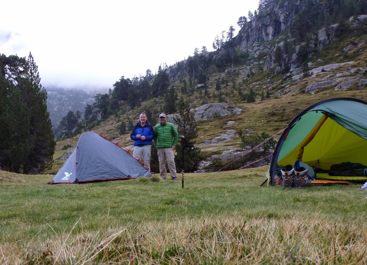 camping near Refuge Wallon