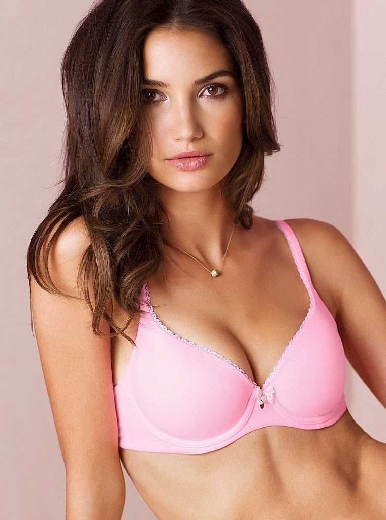 Lily Aldridge Photoshoot for Victoria's Secret Lingerie December 2013