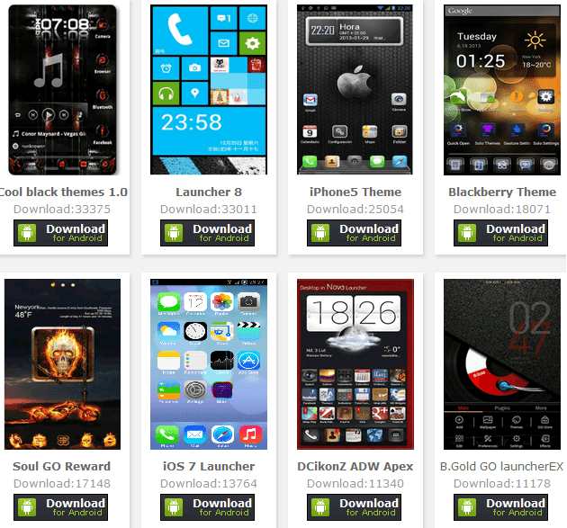 Download Tema Android dan Wallpaper Android Gratis 2014
