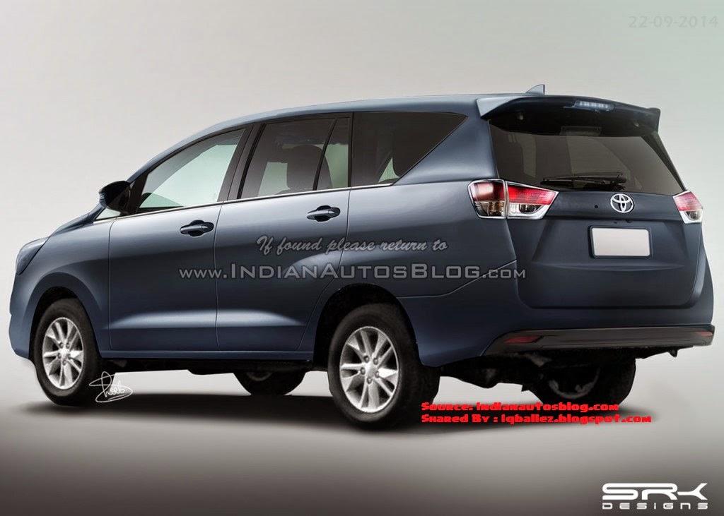 Toyota New kijang Innova Facelift Rendering - iqballez.blogspot.com