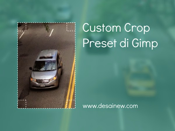 Saving custom crop preset in gimp ala adobe photoshop