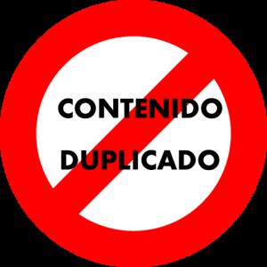 contenido duplicado penalización google