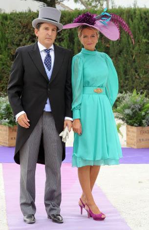 vestido invitada boda fran rivera lourdes montes