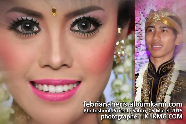 Febrianaheris.albumkami.com - Domain untuk Album Foto Pernikahan : Febriana & Heris - Sabtu, 07 Maret 2015