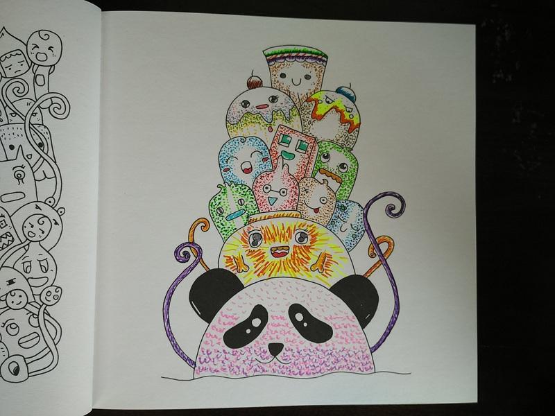 Berbagai Cara Mewarnai Gambar Doodle