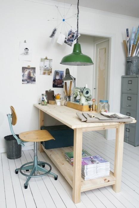 Fabuleux état de nature: Aménager son espace de travail: un atelier couture WN88