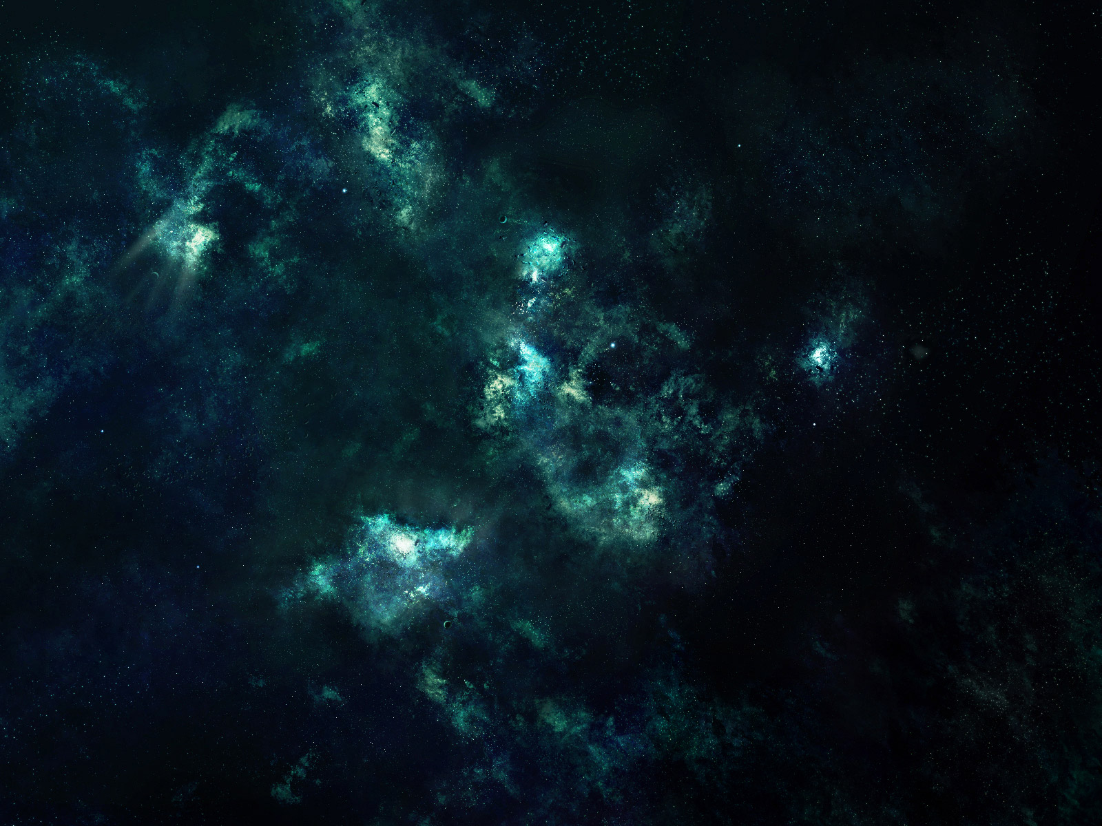 astronomy blue and green backgrounds - photo #29