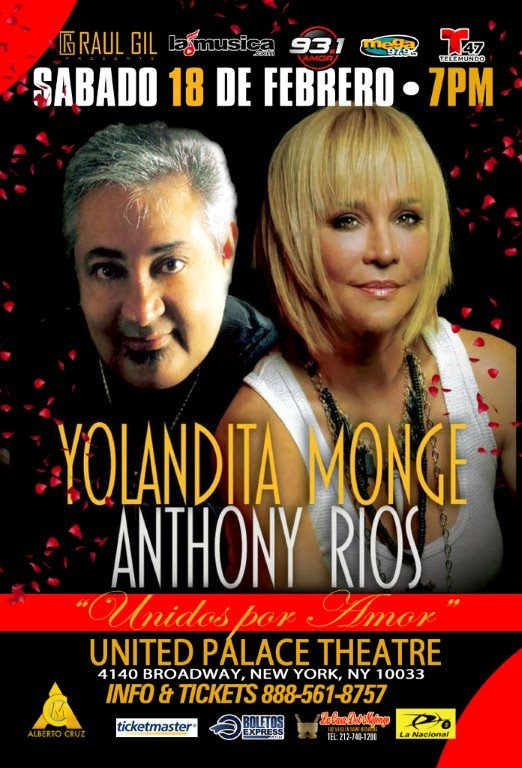 YOLANDITA MONGE & ANTHONY RIOS...UNIDOS POR AMOR