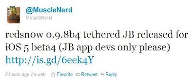 Jailbreak für iOS 5 Beta 4 veröffentlicht