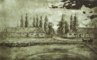 A drawing of the Varatsevichy estate