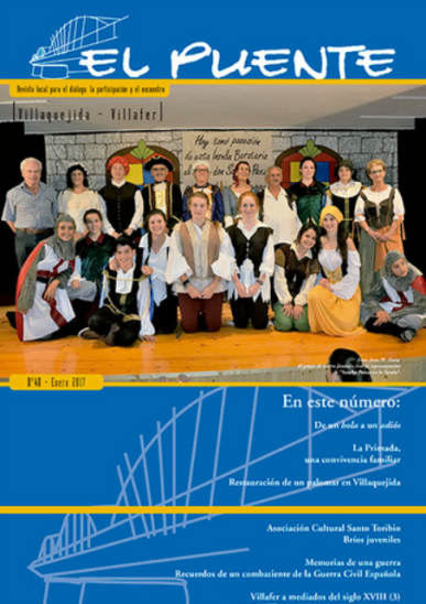 """""""EL PUENTE"""" Revista Cultural Nº40... con mi aportación  (archivo pdf)"""