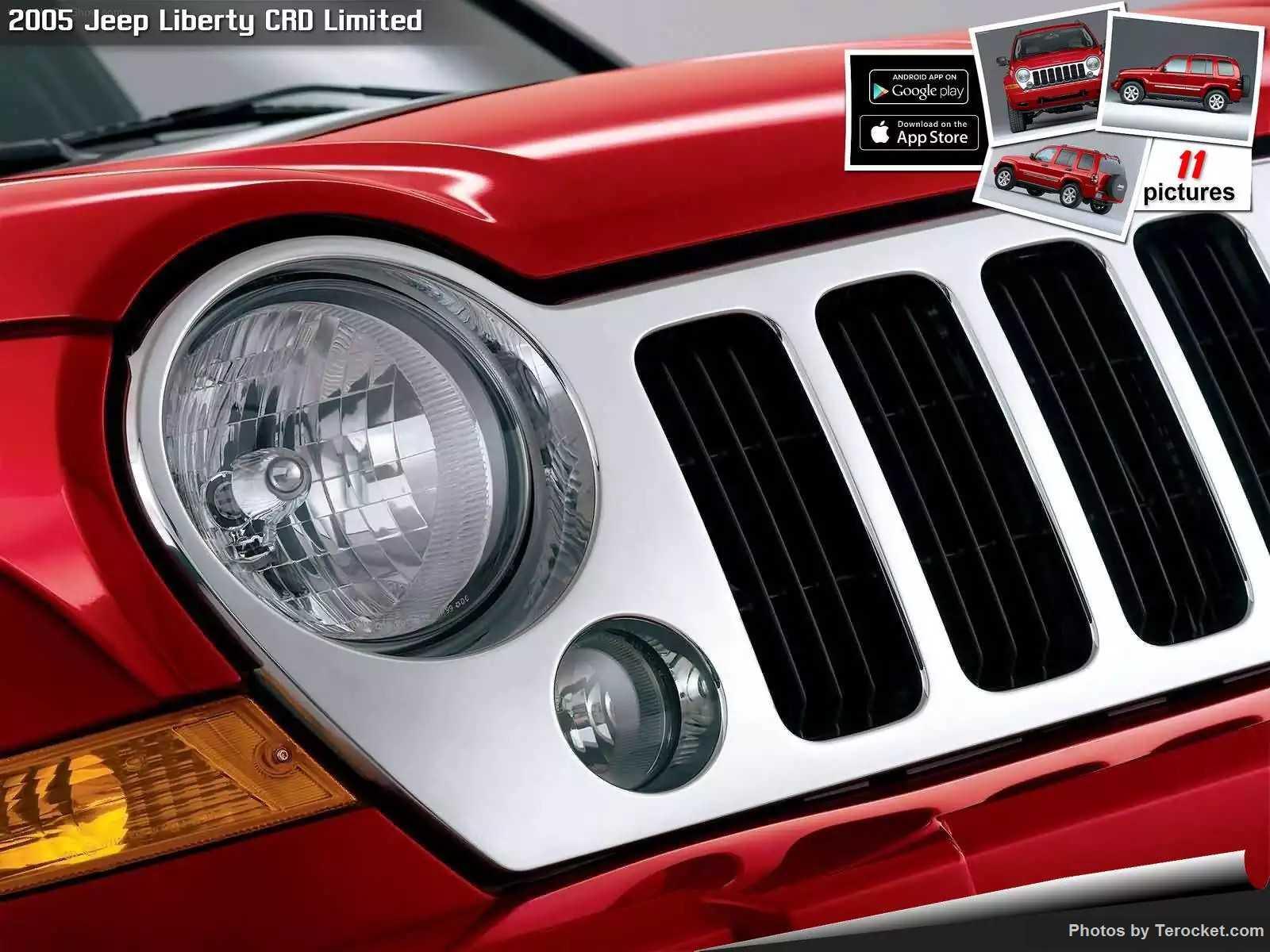 Hình ảnh xe ô tô Jeep Liberty CRD Limited 2005 & nội ngoại thất
