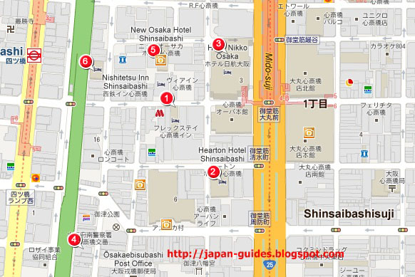 Hotel Villa Fontaine Osaka Shinsaibashi Pantip