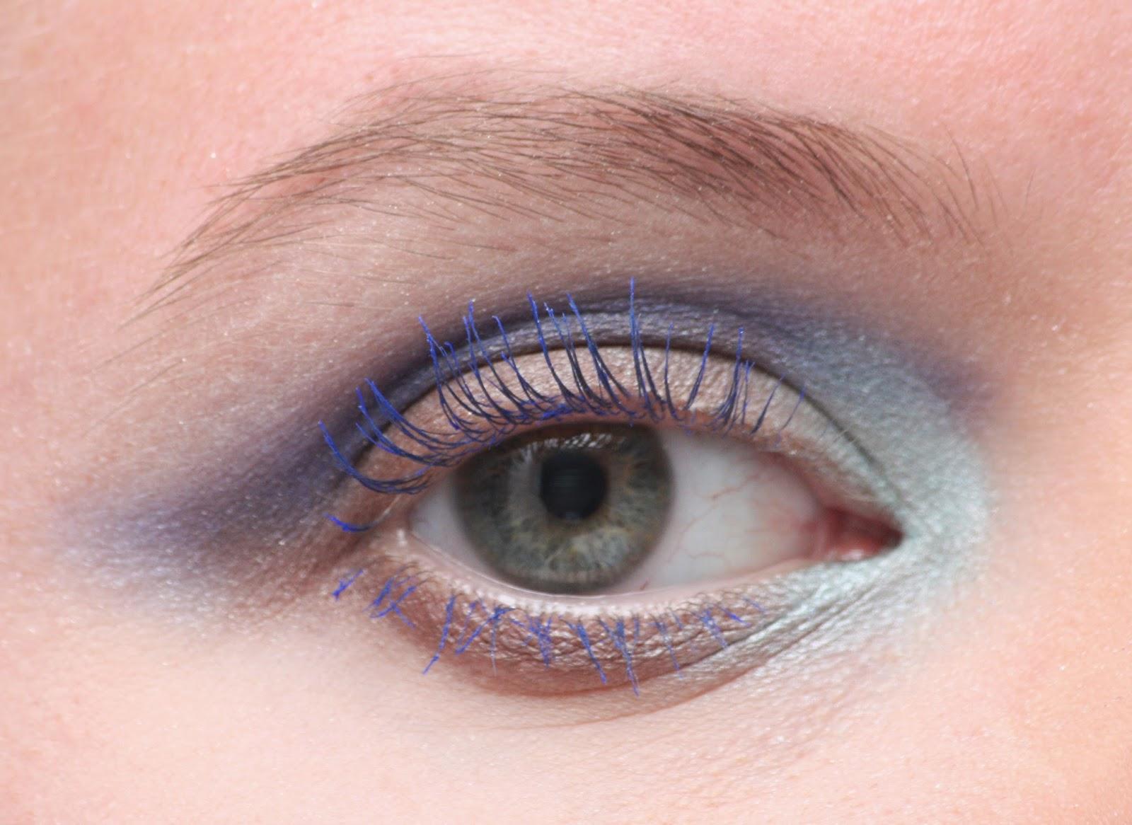 Die Zauberin Zebulon Azurite Eye Makeup