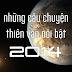 Những câu chuyện thiên văn nổi bật của năm 2014