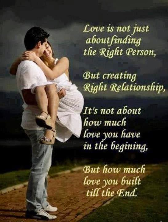 Quotes and Sayings: The Meaning Of The Real Love