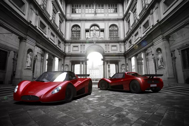 "Ermini-686-ERMINI+PROJECT+686+CONCEPT+CAR-http://www.facebook.com/hydrocarbons-Concept+cars-Ermini-686-The design of the compact ""barchetta"" is being developed by a team at Ermini Automobili Italia and designer Giulio Cappellini"
