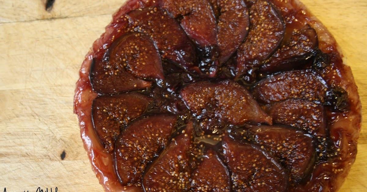 anyonita nibbles  blueberry  u0026 fig tarte tatin recipe