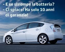 estensione garanzia batteria ibrida