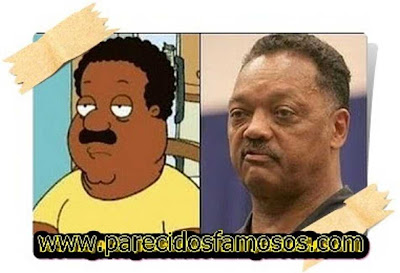 Cheveland Brown con Jesse Jackson