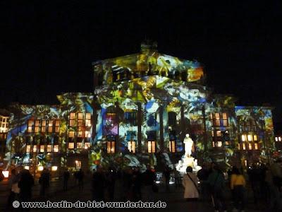fetival of lights, berlin, illumination, 2012, Gendarmenmarkt