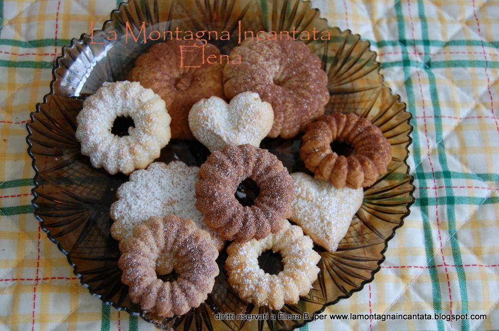 Ricette biscotti bimby con la sparabiscotti