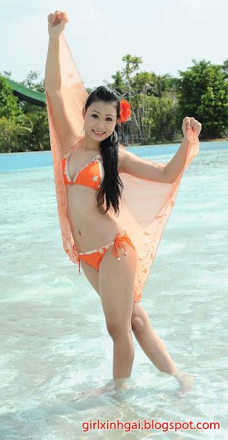 Hoa khôi áo tắm, miss bikini Vietnam, hình ảnh girl xinh bikini 18