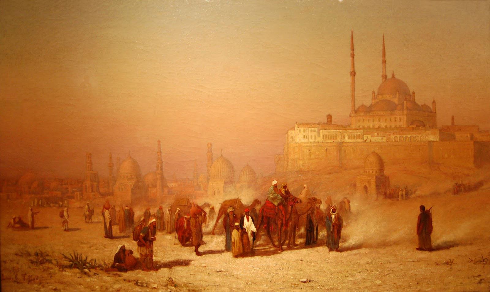 19th century American Paintings: Orientalist Paintings