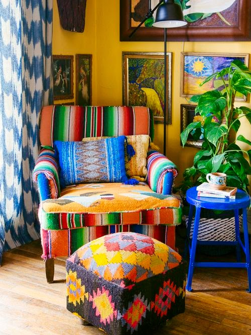 Moon to moon the new bohemians book by justina blakeney for Boho style arredamento