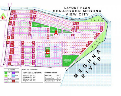 Map of Sonargang