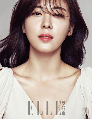 Ha Ji Won Elle January 2016