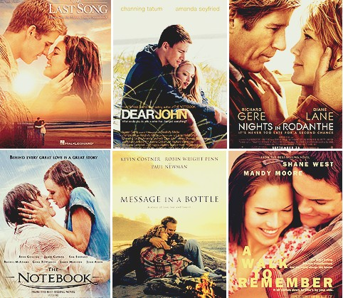 Love fashion love life romantische filme aus nicholas sparks