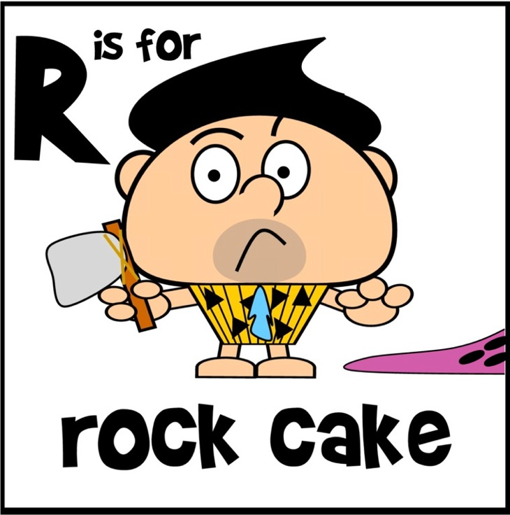 rock cake cartoon