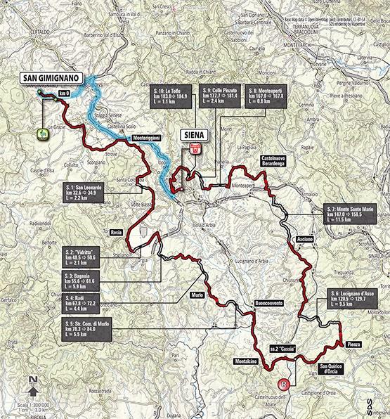 strade bianche tuscany bike rental excursions