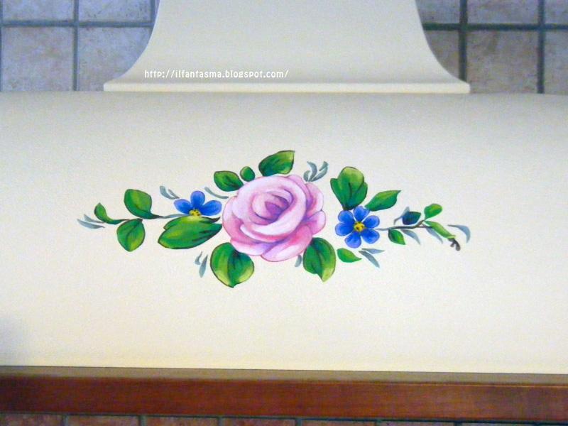 Popolare Le avventure della mia fantasia: [bricolage] Dipingere una rosa  EO03