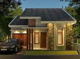 Gambar desain rumah minimalis modern 1 lantai