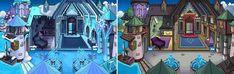 Frozen Party Room Sneak Peek