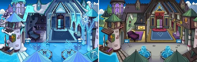 Frozen Party Room Sneak Peek
