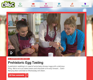 http://www.bbc.co.uk/cbbc/watch/mmad-prehistoric-egg-tasting