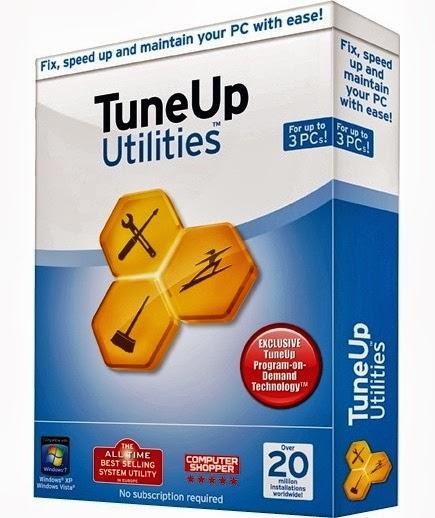 تحميل برنامج TuneUp Utilities 2014 مجانا لعمل صيانة متكاملة للويندوز
