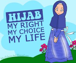 beautiful by wearing hijab :)