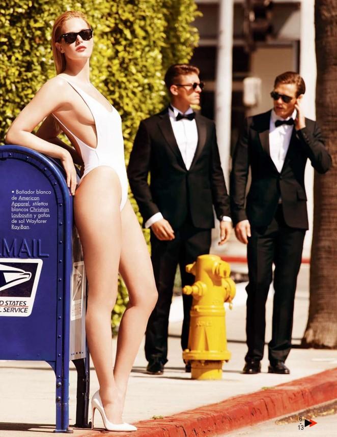 Erin Heatherton – GQ Spain Magazine (July/August 2015)