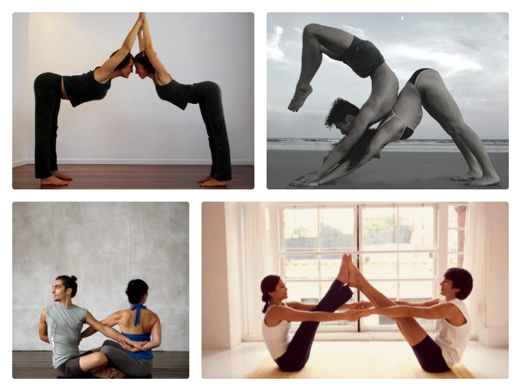 What Is Partner Yoga Basically Two People Exercising Simultaneously Through Poses