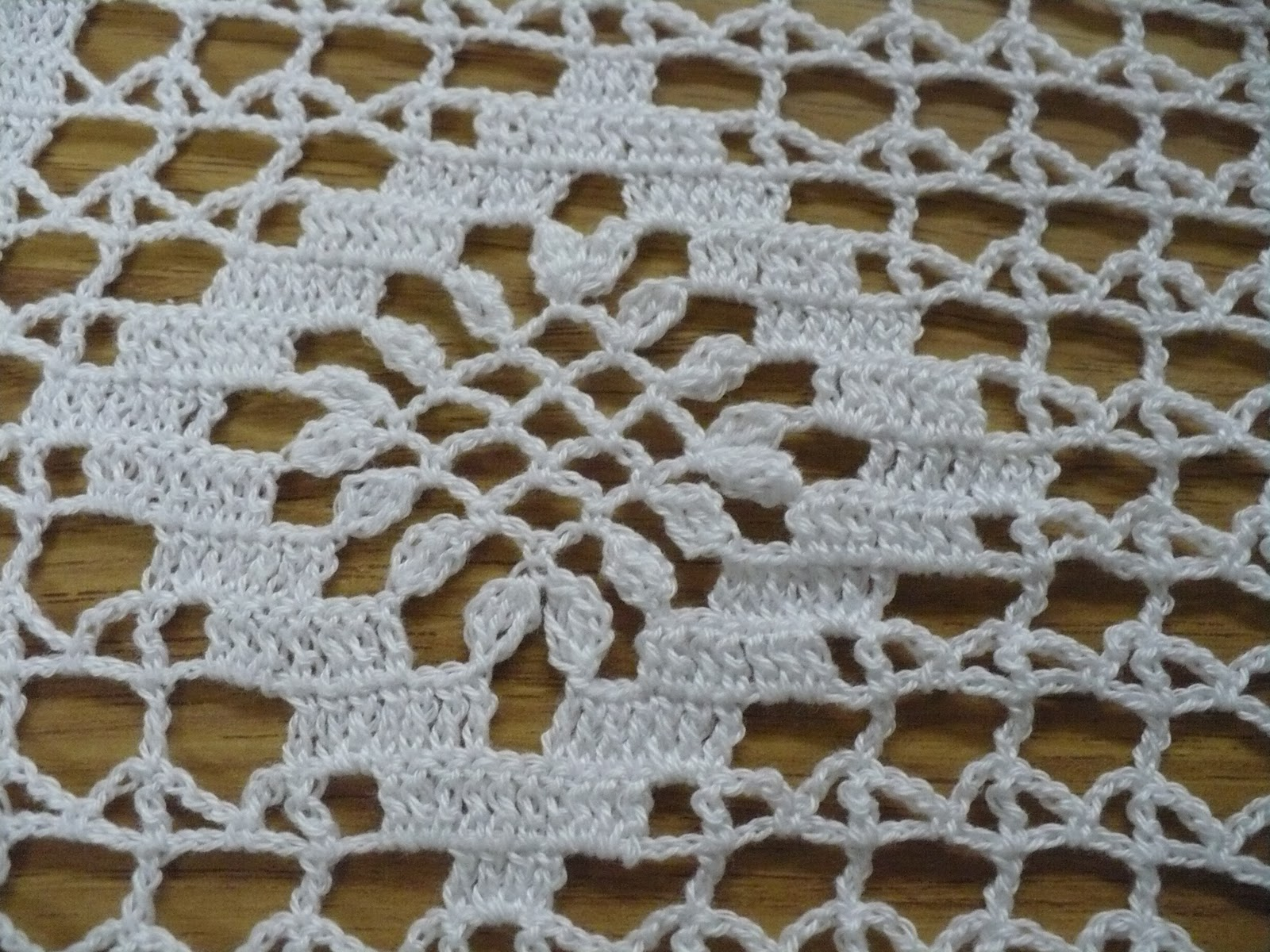 Caminos De Mesa Tejidos A Crochet. Camino De Mesa Tejido A Crochet ...