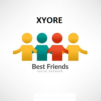 XYORE is a free social network for people