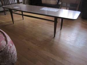 Coffee Table Early 60s 75 Lowell Area