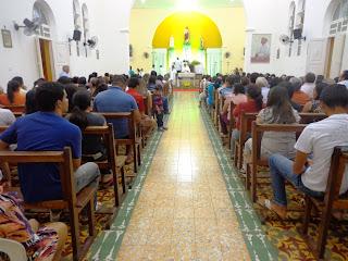 Santa Missa e abertura da festa do SCJ 2013